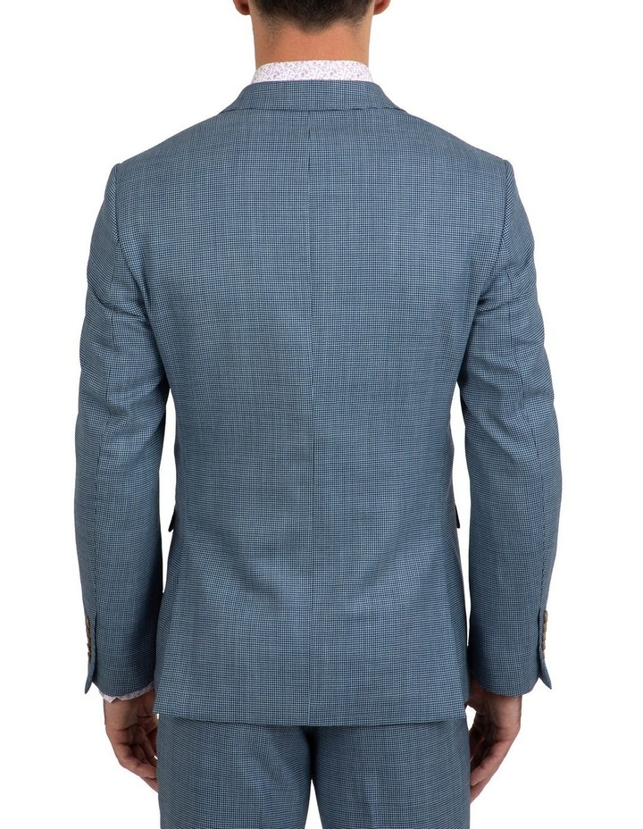Slim Fit Nitro Houndstooth Wool Jacket FGK640 image 3