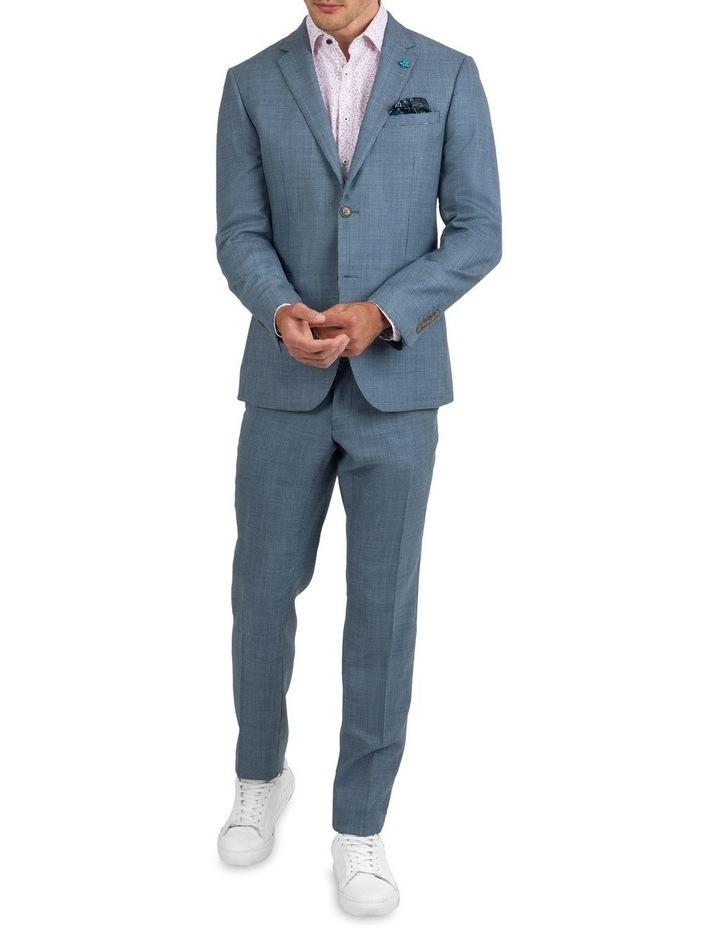 Slim Fit Nitro Houndstooth Wool Jacket FGK640 image 5