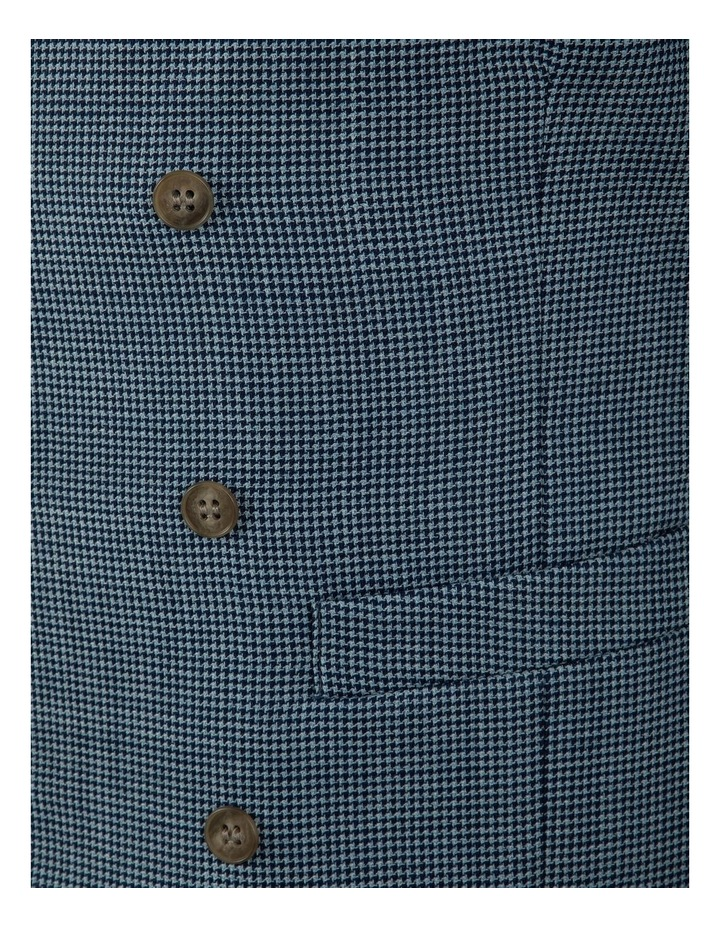 Slim Fit Joule Houndstooth Double Breasted Vest FGK640 image 5