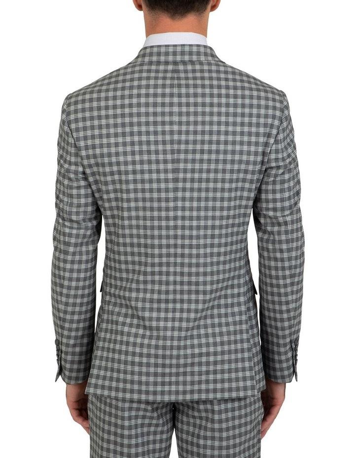 Slim Fit Nitro Stretch Check Jacket FGK645 image 2