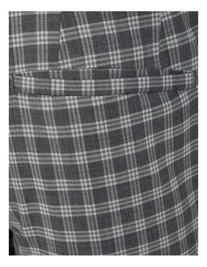Slim Fit Radon Check Cuffed Trouser FGK645 image 5