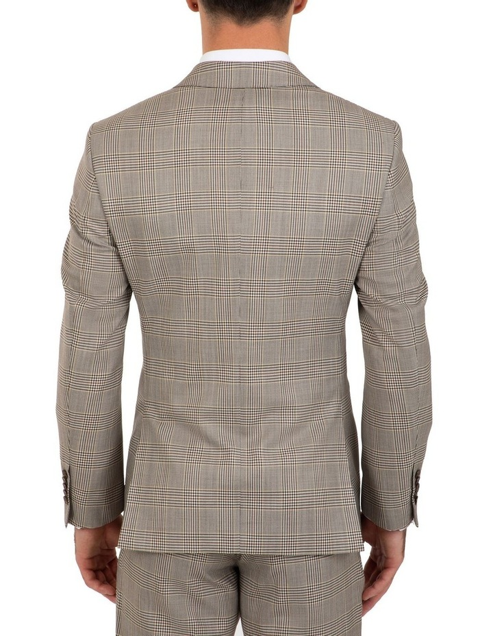 Slim Fit Ionic Prince of Wales Check Jacket FGK647 image 2