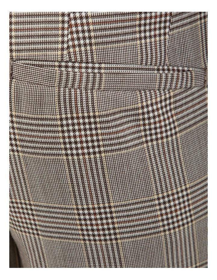Slim Fit Radon Check Cuffed Trouser FGK647 image 5