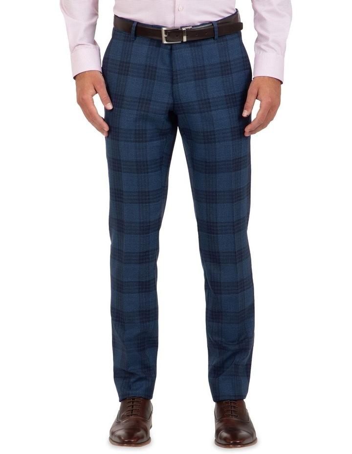 Slim Fit Caper Bold Check Wool Trouser FGL655 image 1