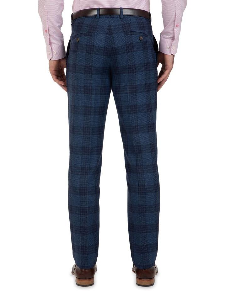 Slim Fit Caper Bold Check Wool Trouser FGL655 image 2