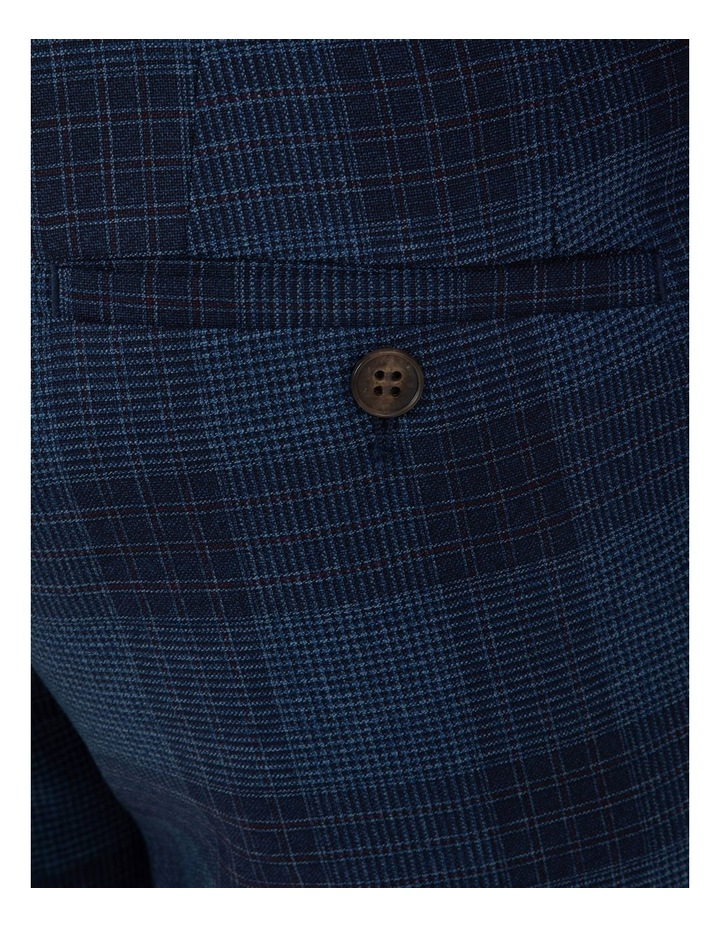 Slim Fit Caper Bold Check Wool Trouser FGL655 image 4
