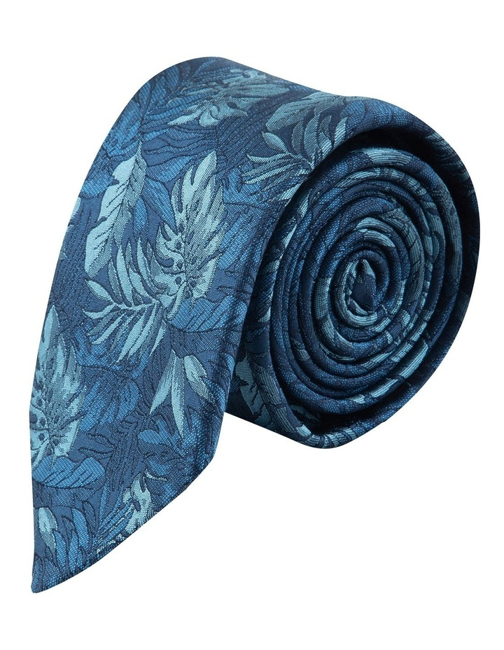 Blue Houseplants 6.5cm Silk Tie image 1