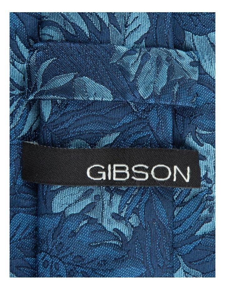 Blue Houseplants 6.5cm Silk Tie image 2