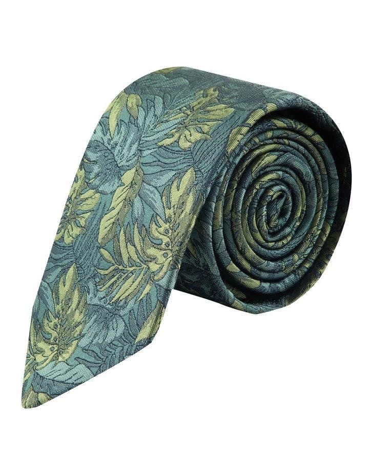 Green Houseplants 6.5cm Silk Tie image 1