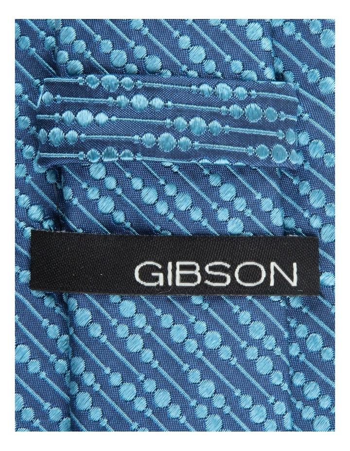 Blue Bubbles 6.5cm Silk Tie image 2