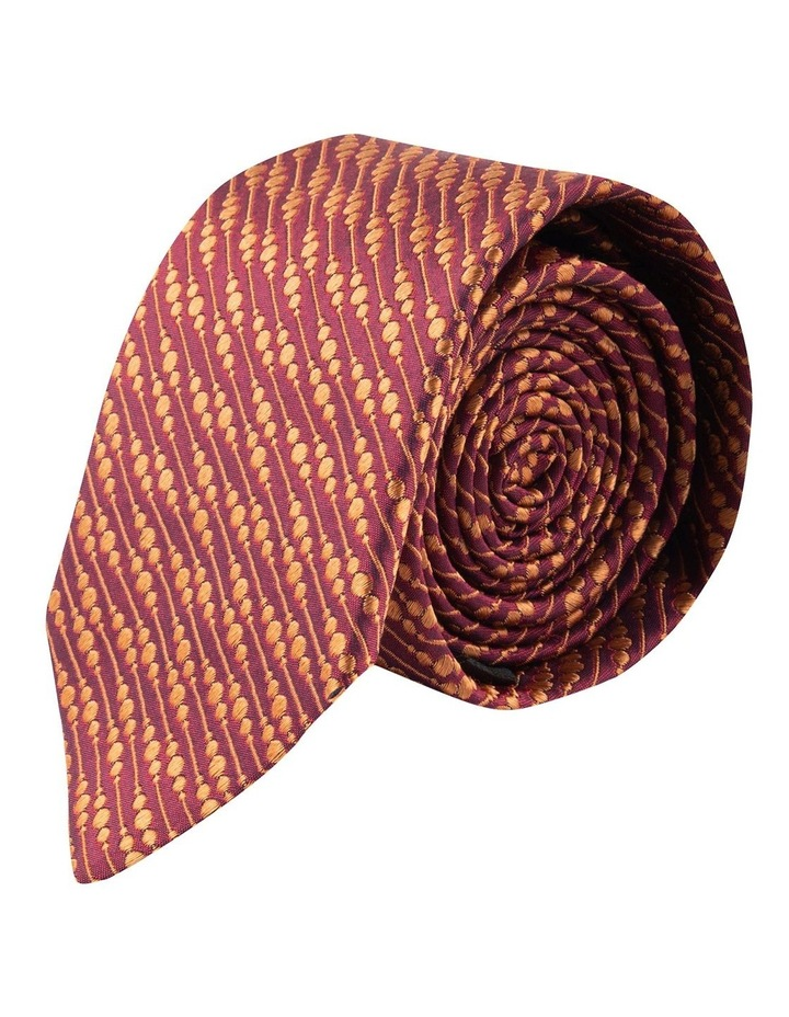 Flame Bubbles 6.5cm Silk Tie image 1