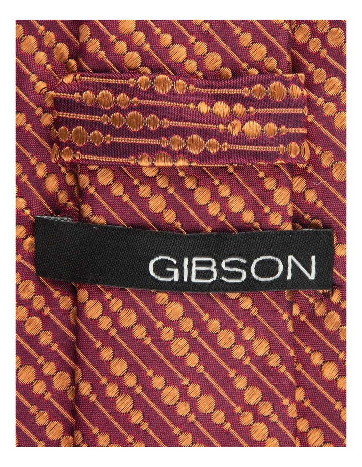 Flame Bubbles 6.5cm Silk Tie image 2