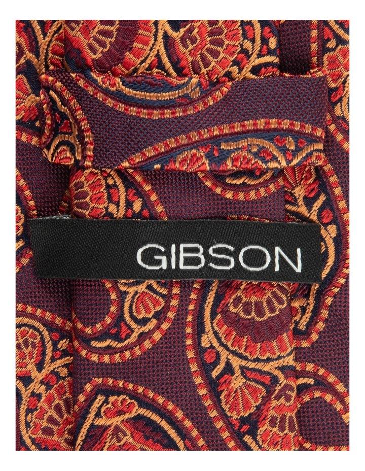 Wine Deco Paisley 6.5cm Silk Tie image 2