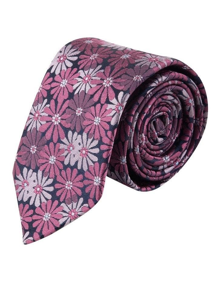 Berry Aster 6.5cm Silk Tie image 1