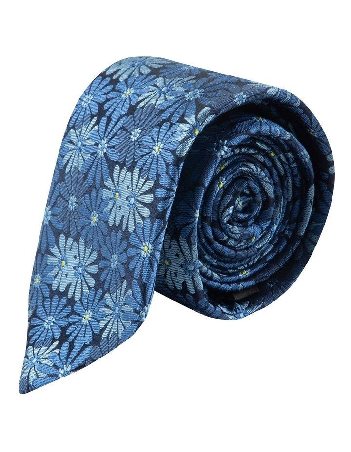 Blue Aster 6.5cm Silk Tie image 1