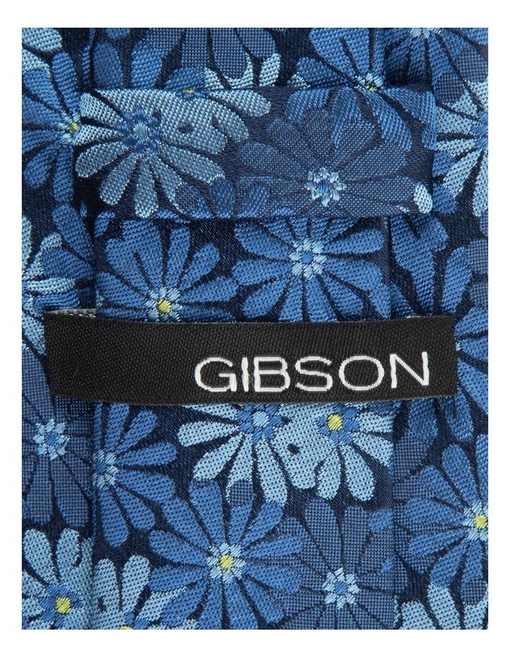 Blue Aster 6.5cm Silk Tie image 2