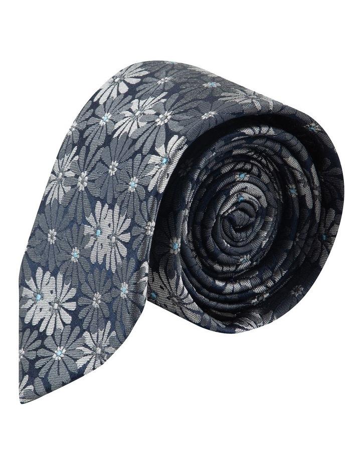 Grey Aster 6.5cm Silk Tie image 1