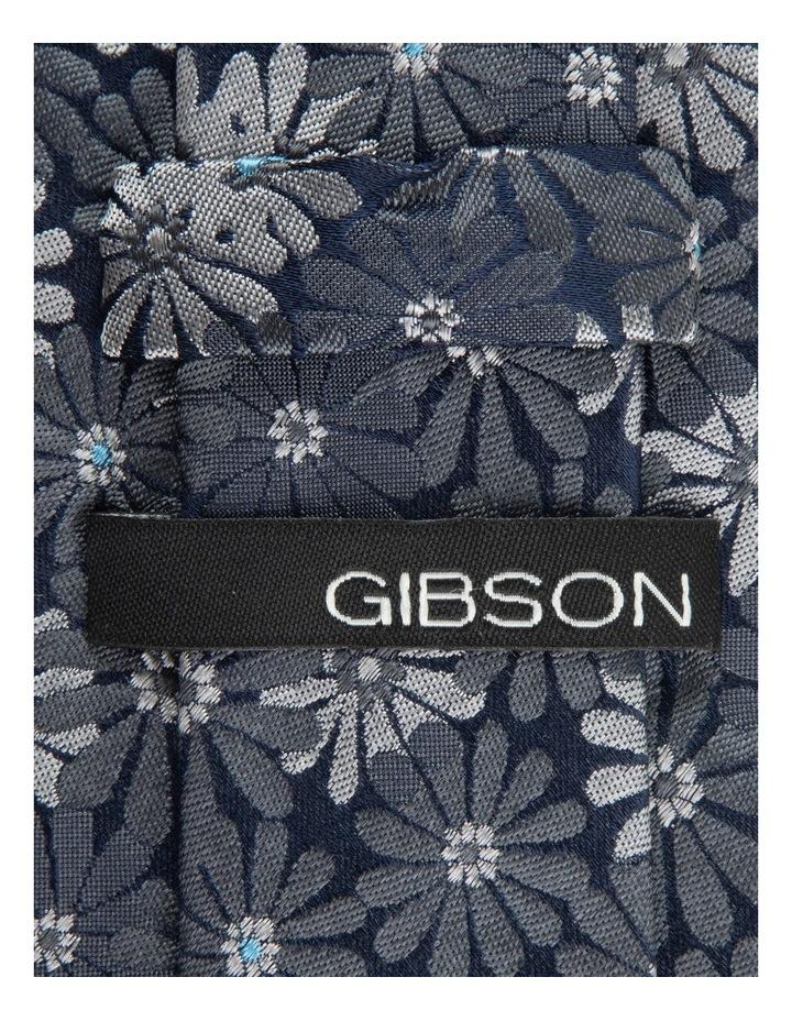 Grey Aster 6.5cm Silk Tie image 2