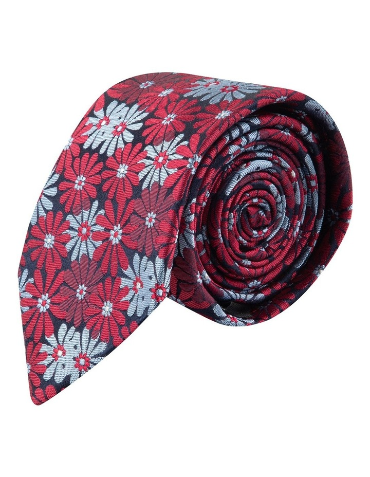 Wine Aster 6.5cm Silk Tie image 2