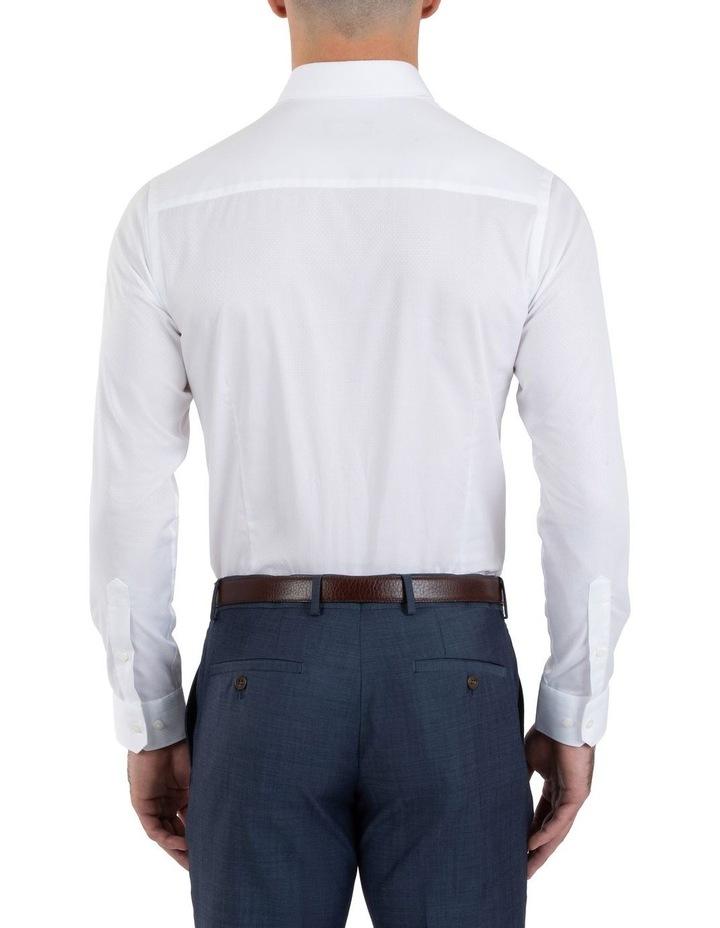 Slim Fit Flame White Shirt FGL676 image 3