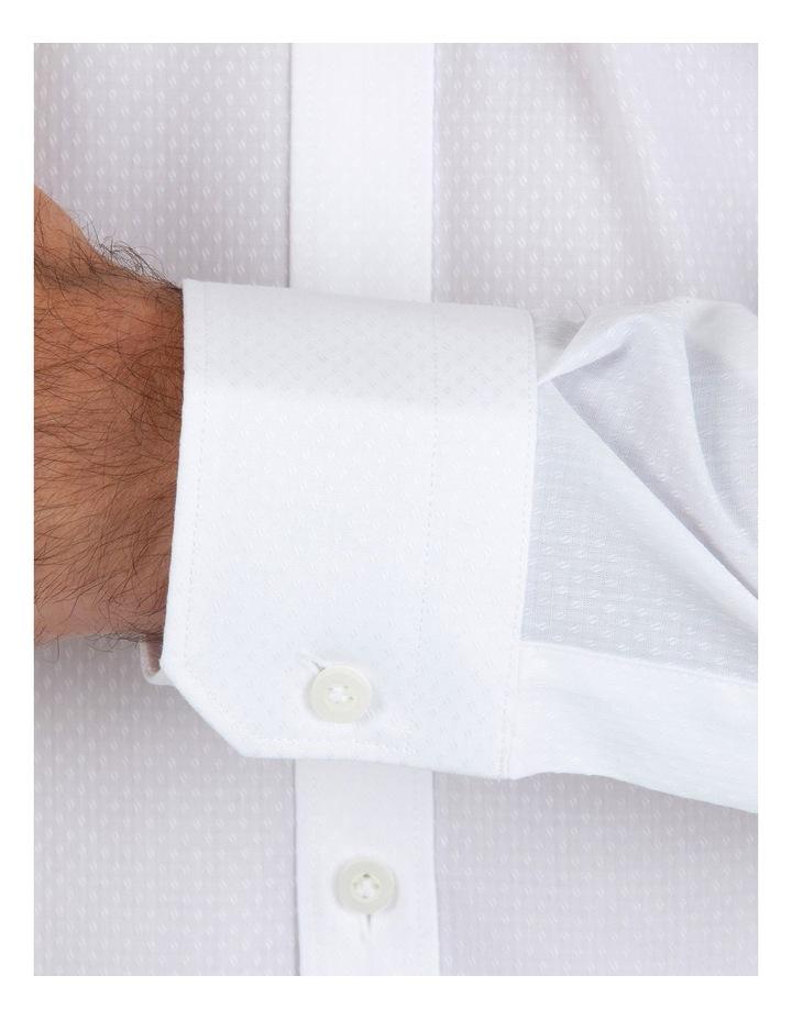 Slim Fit Flame White Shirt FGL676 image 4