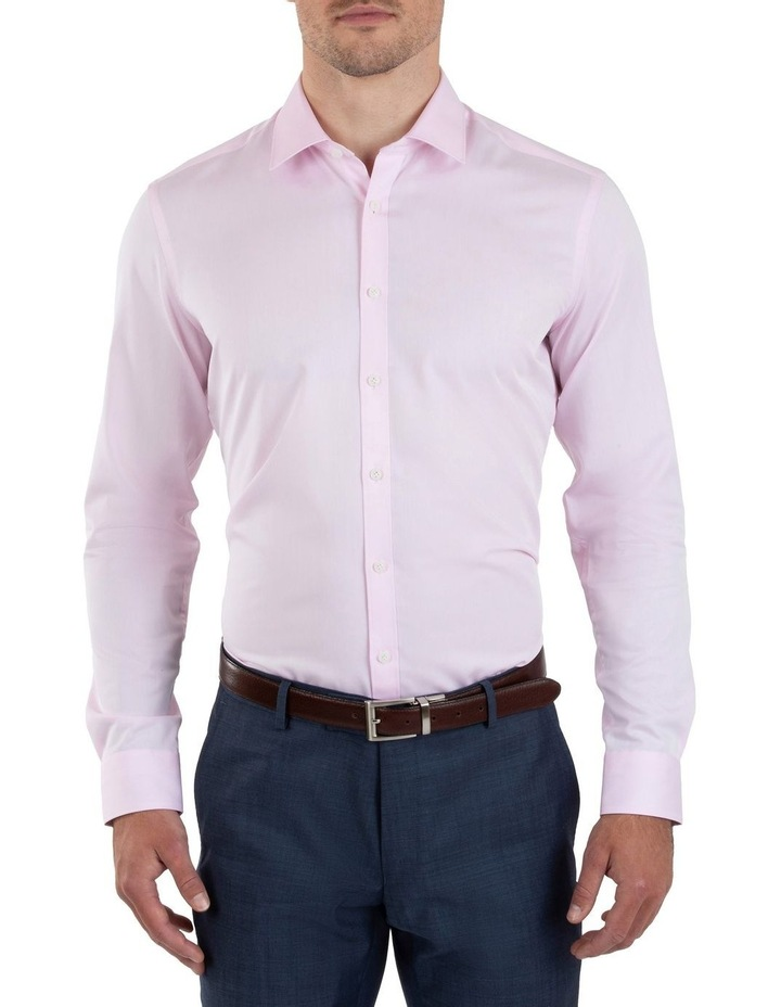 Slim Fit Flame Pink Shirt FGM709 image 1