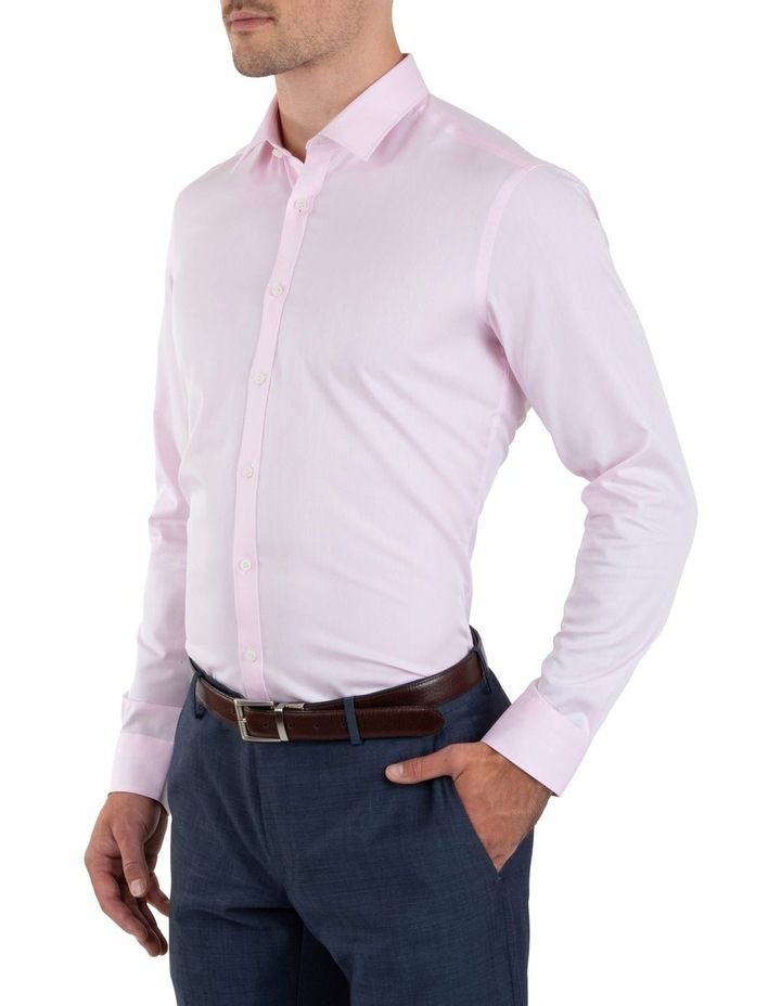 Slim Fit Flame Pink Shirt FGM709 image 2
