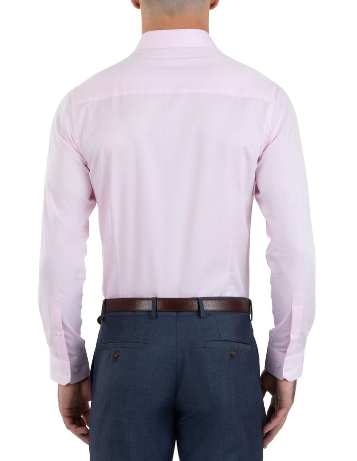 Slim Fit Flame Pink Shirt FGM709 image 3
