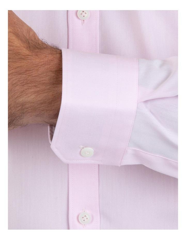 Slim Fit Flame Pink Shirt FGM709 image 4