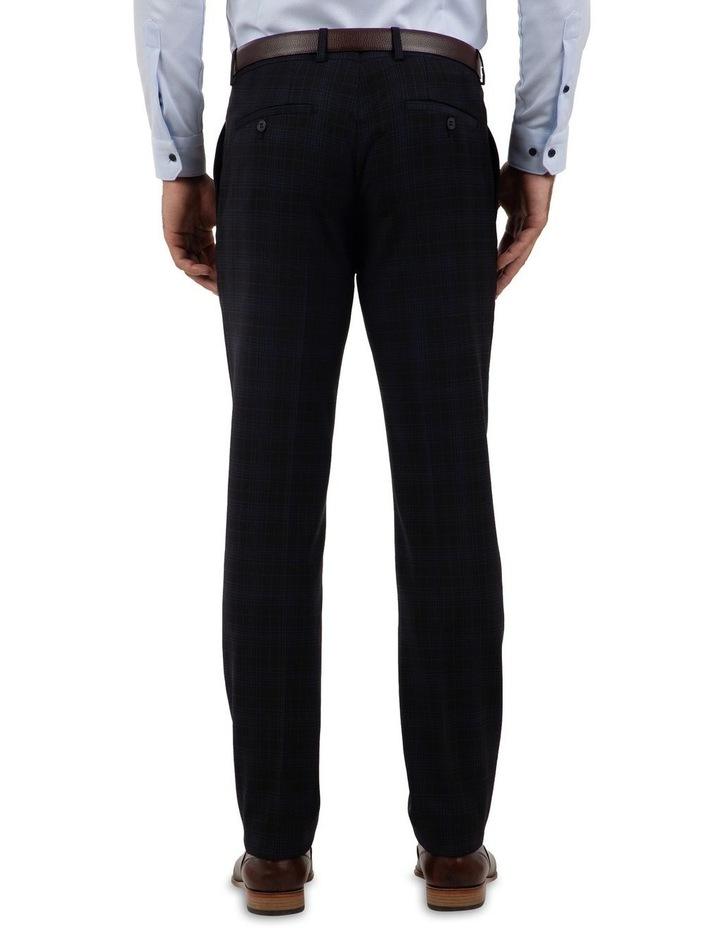 Slim Fit Caper Black Trouser FGM700 image 3