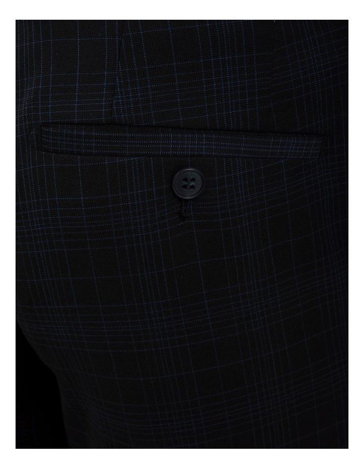 Slim Fit Caper Black Trouser FGM700 image 4