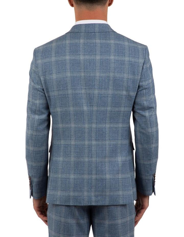 Slim Fit Nitro Blue Check Jacket FGM701 image 3