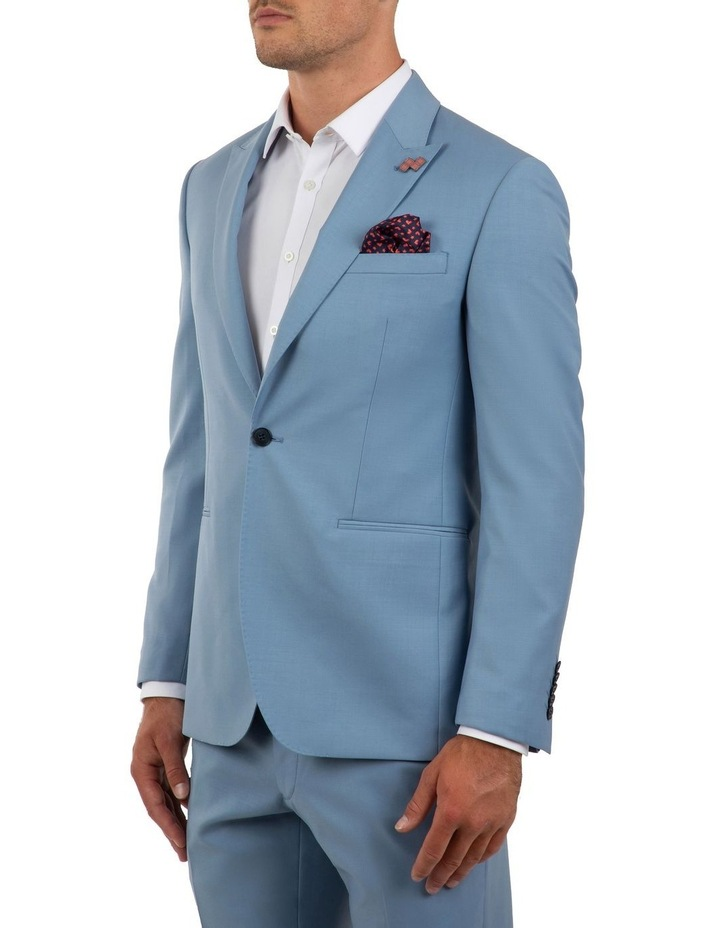 Slim Fit Ionic Blue Jacket FGM707 image 2