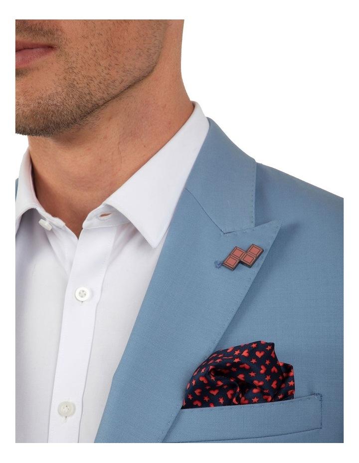 Slim Fit Ionic Blue Jacket FGM707 image 4