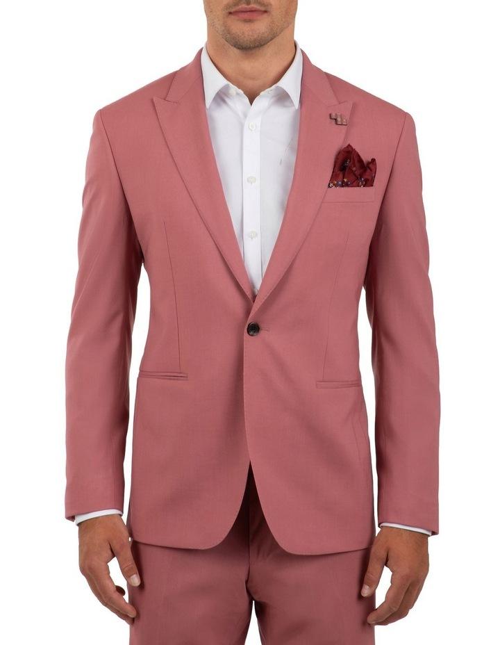 Slim Fit Ionic Salmon Pink Jacket FGM707 image 1