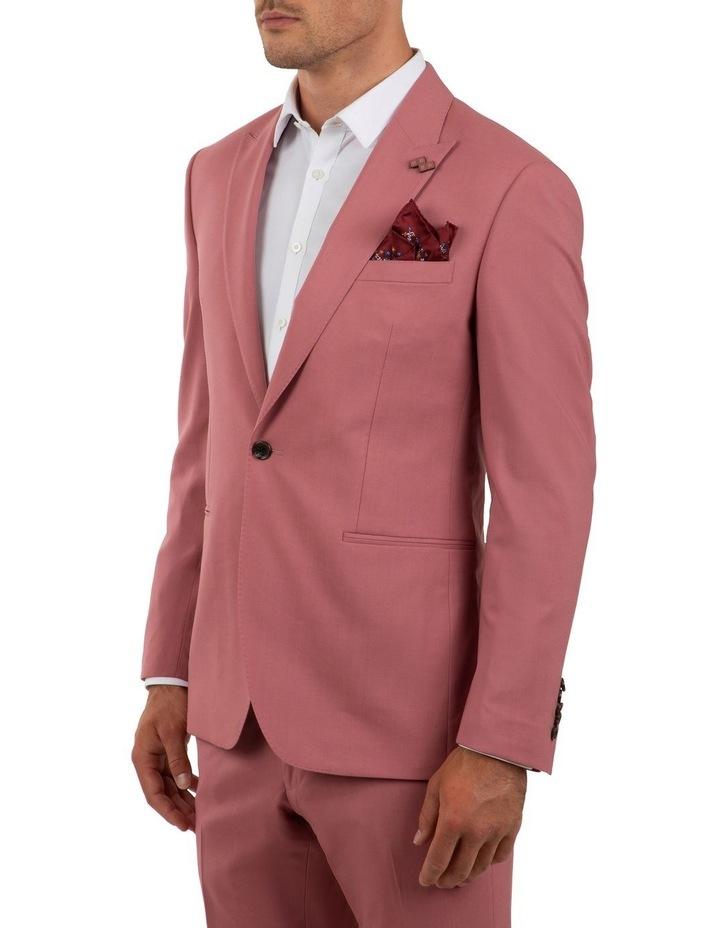 Slim Fit Ionic Salmon Pink Jacket FGM707 image 2