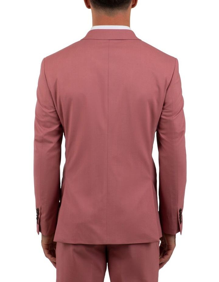 Slim Fit Ionic Salmon Pink Jacket FGM707 image 3