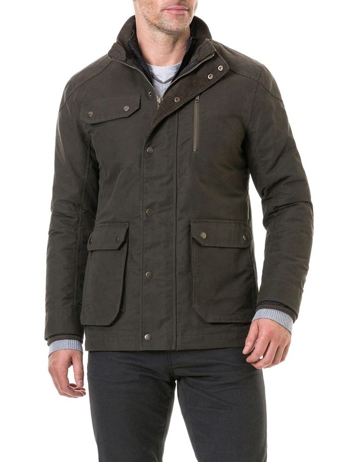 Harper Waxed Jacket image 1
