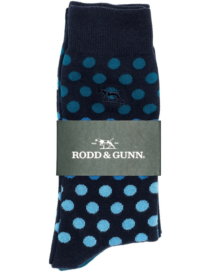 Findlay Road Two Pack Sock - Sea image 2
