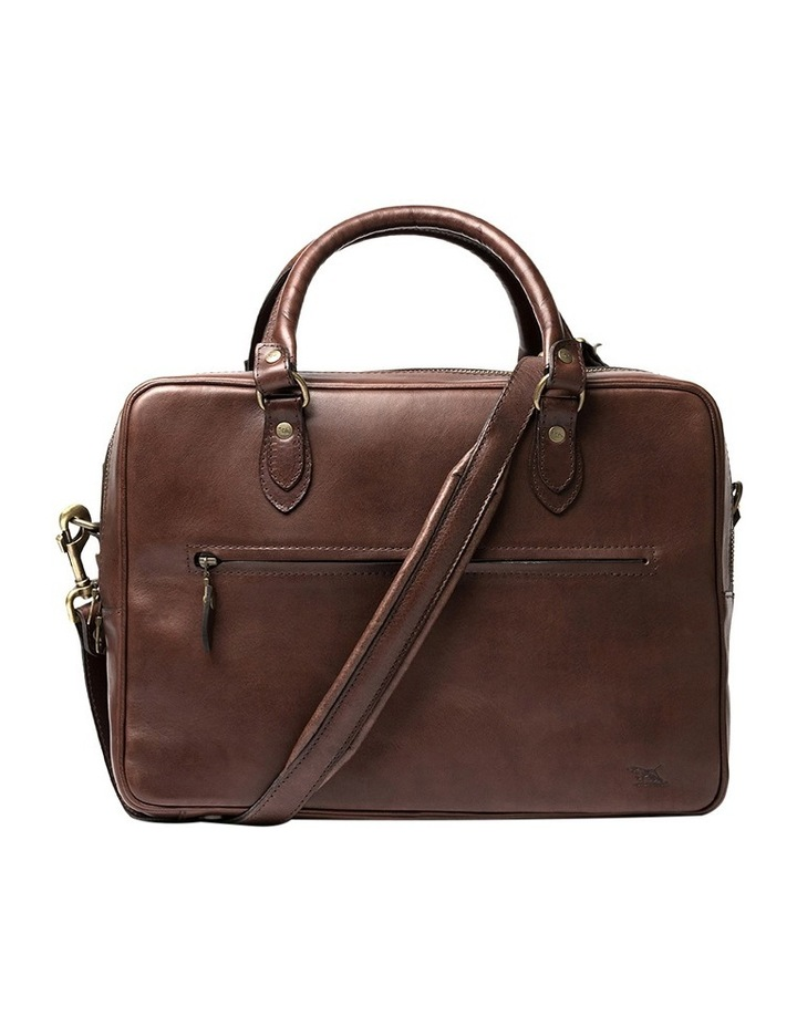 The Viaduct Briefcase - Cocoa image 1