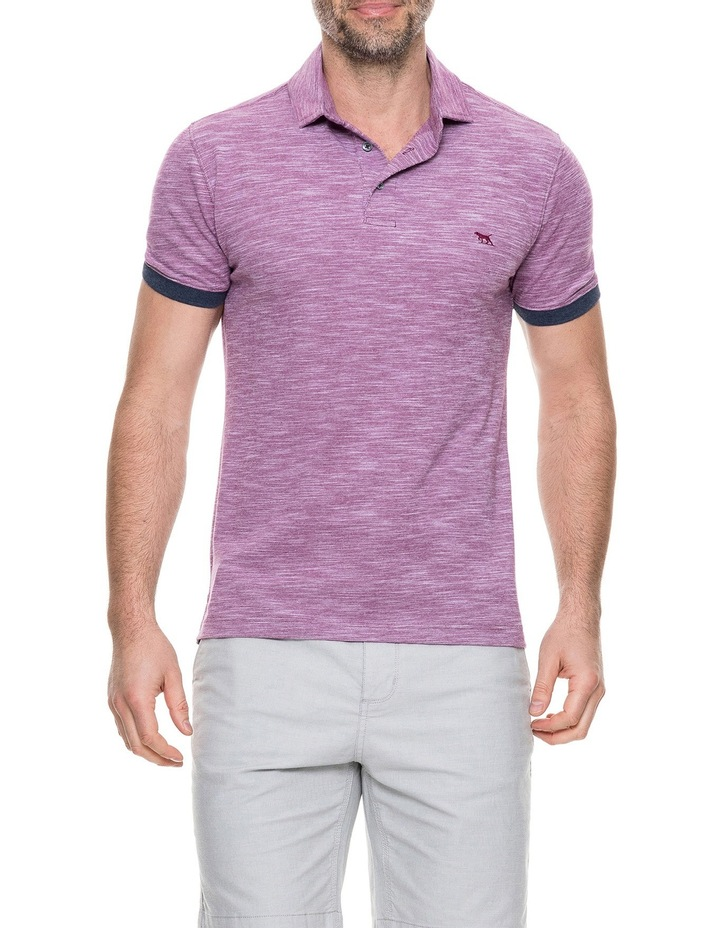 Hampstead Sports Fit Polo - Claret image 1