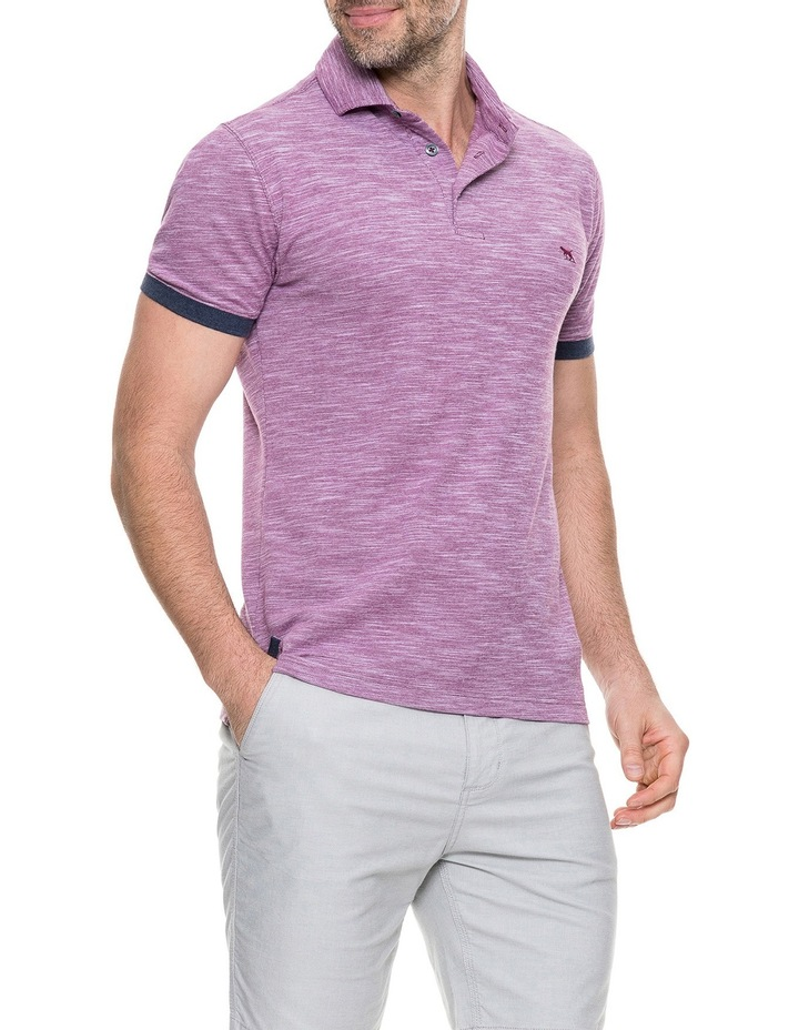 Hampstead Sports Fit Polo - Claret image 2