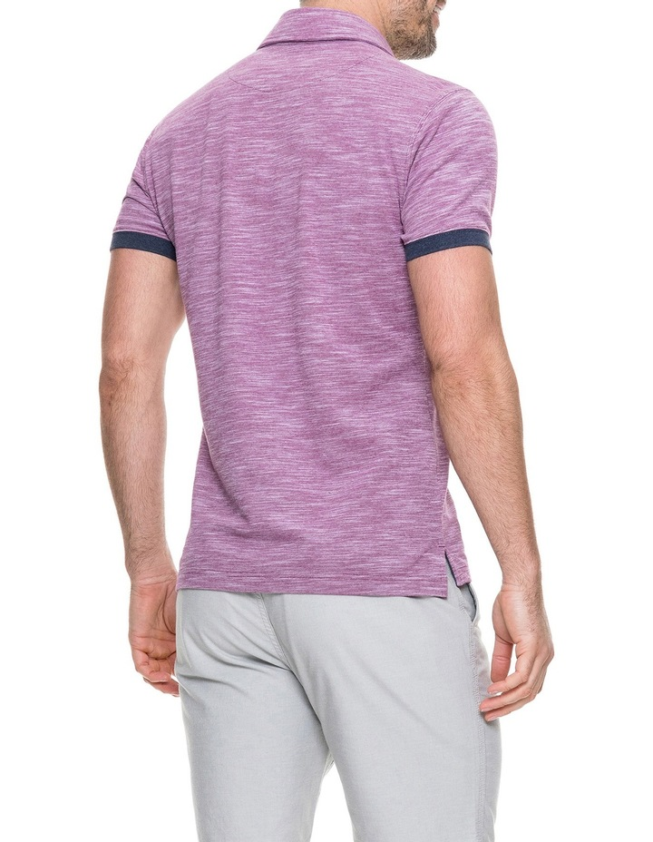 Hampstead Sports Fit Polo - Claret image 3