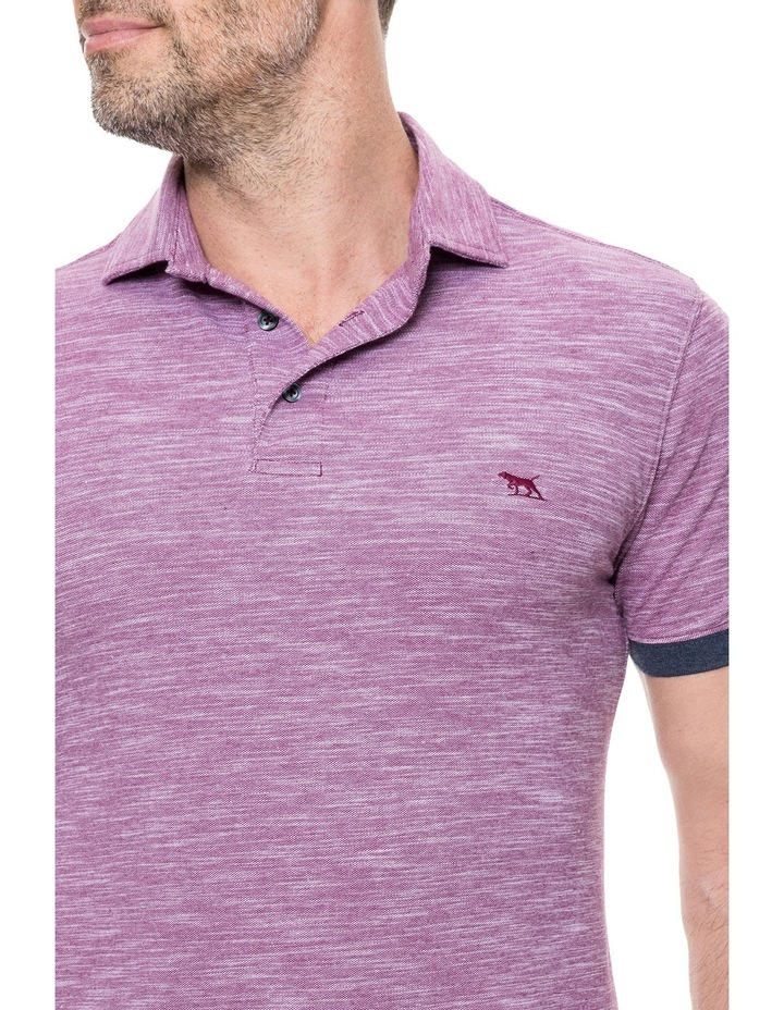 Hampstead Sports Fit Polo - Claret image 4