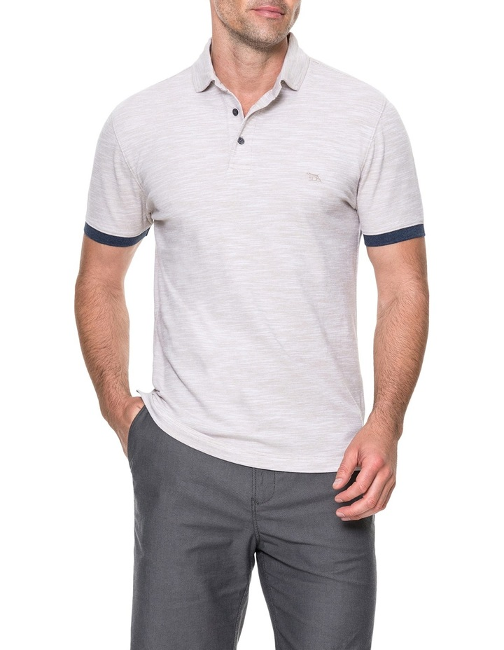 Hampstead Sports Fit Polo - Natural image 1