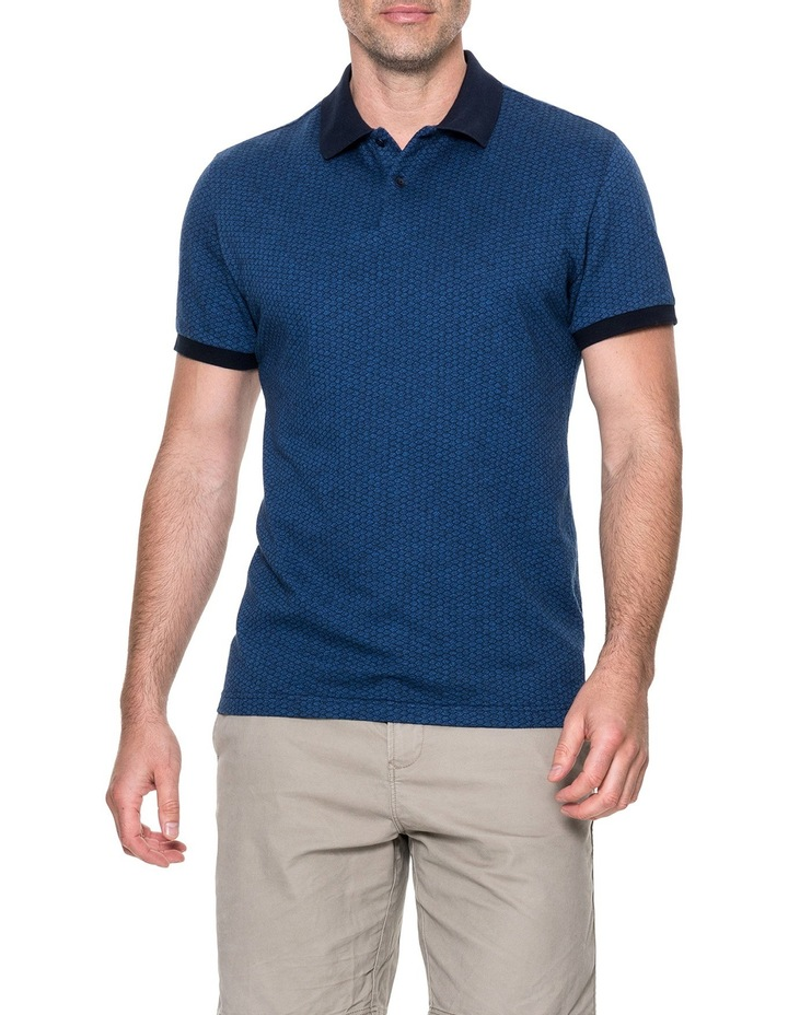 Mantle Hill Sports Fit Polo - Ocean image 1