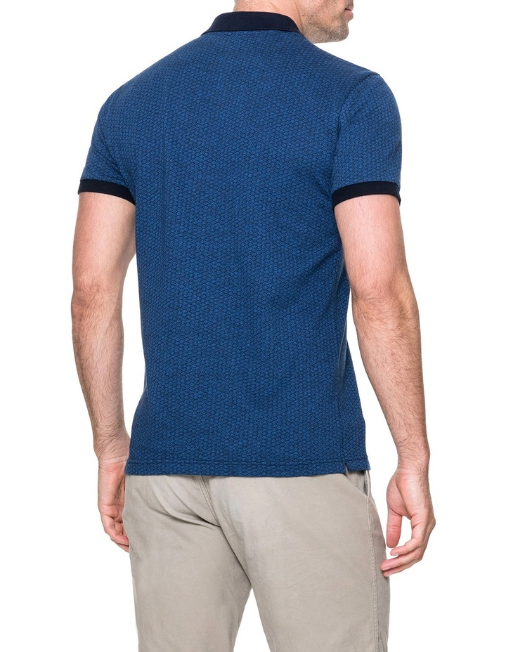 Mantle Hill Sports Fit Polo - Ocean image 3