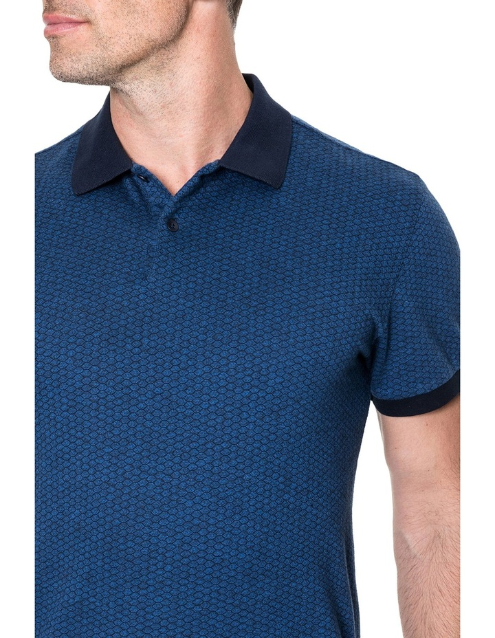 Mantle Hill Sports Fit Polo - Ocean image 4