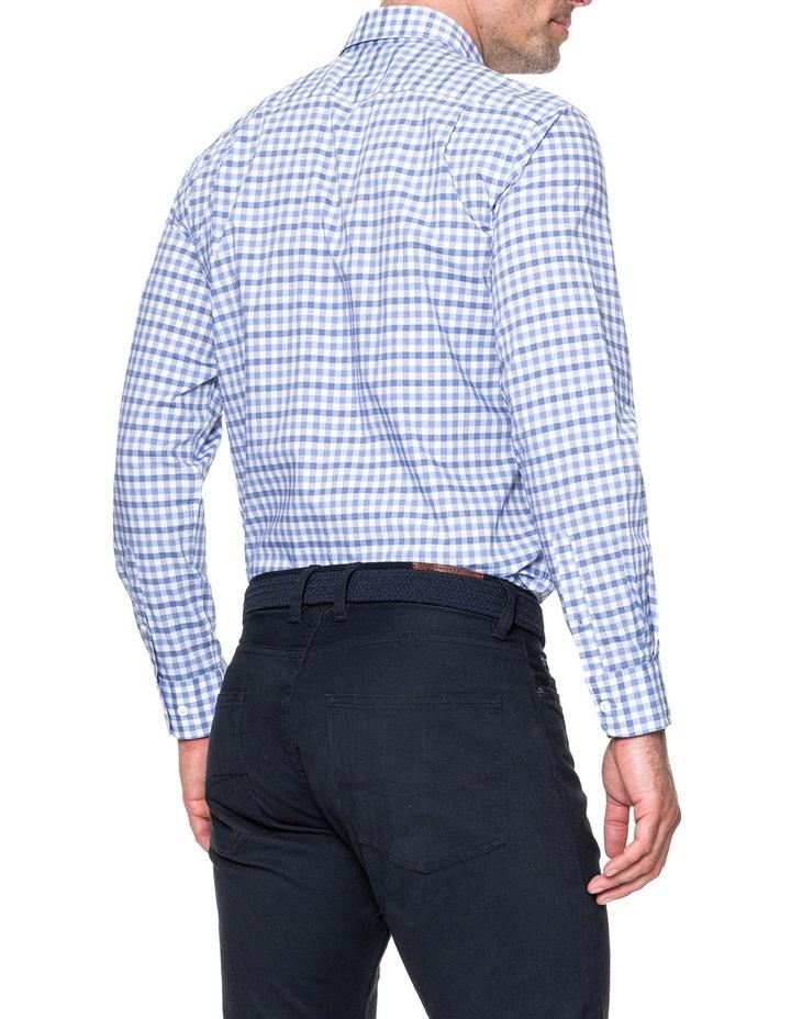 Shorecliffe Long Sleeve Sports Fit Shirt - Peacoat image 3