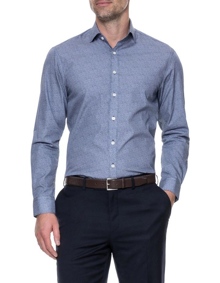 LP3116 Waithman Long Sleeve Tailored Shirt Navy image 1